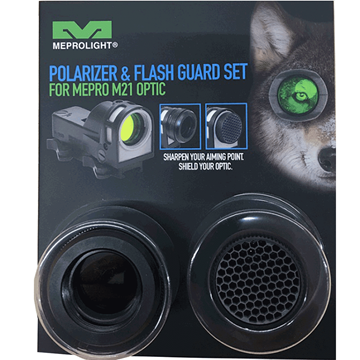 Bild von MERPO M21: Polarizer + Flash Guard Kit