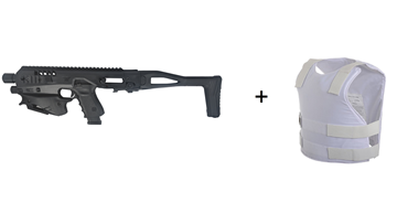 Bild von Special offer:    MCK|MICRO CONVERSION KIT (Glock) + IIIA VIP protection Vest + Free Red Rock Eyewear