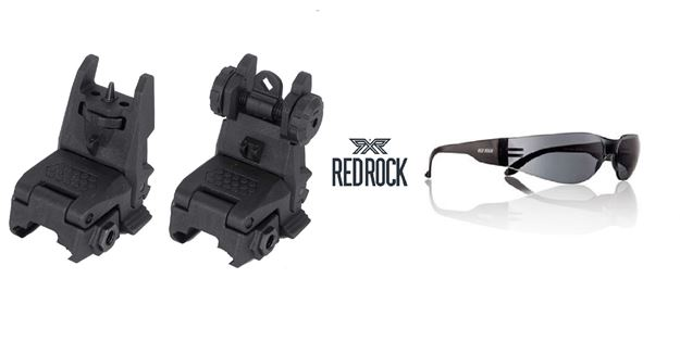 Bild von RR - FLIP FRONT SIGHT + FLIP REAR SIGHT + RED ROCK EYEWEAR